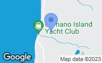 Map of Camano Island, WA