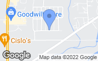 Map of Kalispell, MT