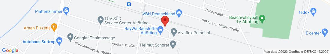 BayWa Tankstelle Altoetting Anfahrt