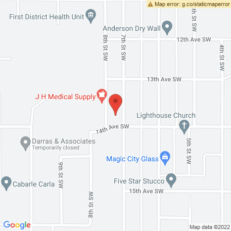 Sound Ideas on Map (1324 7th St Sw, Minot, ND 58701) Map