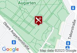 Sperling im Augarten - Karte