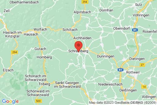 Karte Schramberg