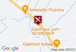 Gasthof Zum Schreiber - Karte
