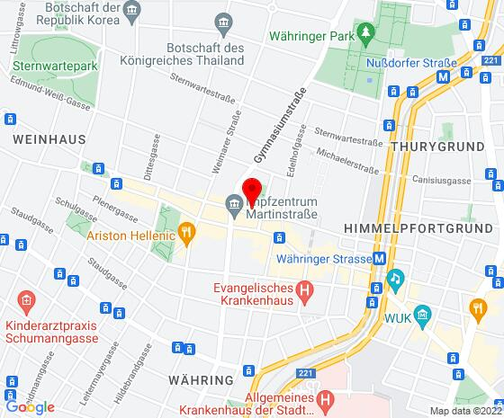 Google Map of Gentzgasse 38/6, 1180 Wien