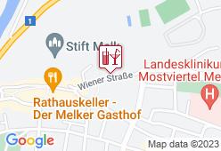 Alt Melk Bar - Karte