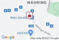 Café Stadtbahn - Karte