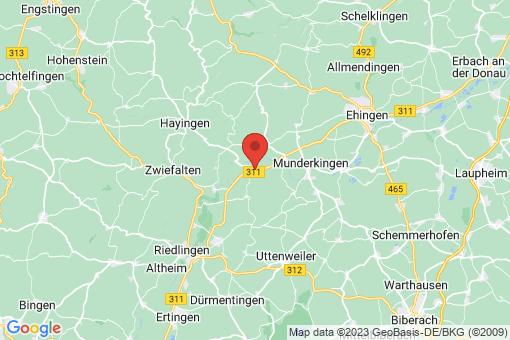 Karte Obermarchtal