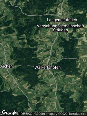 Google Map of Walkertshofen