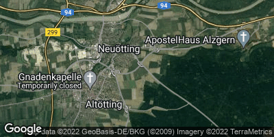 Google Map of Neuötting