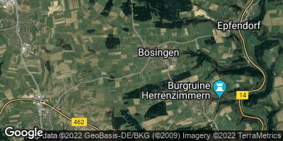 Google Map of Bösingen