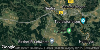 Google Map of Neufra