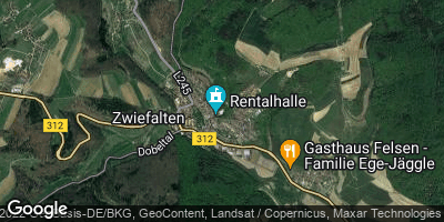 Google Map of Zwiefalten