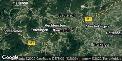 Google Map of Obermarchtal