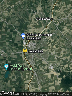 Google Map of Laupheim