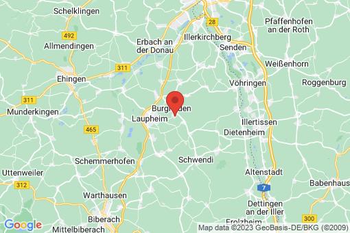 Karte Burgrieden