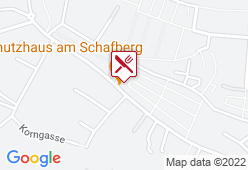 Schutzhaus am Schafberg - Karte