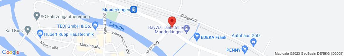 BayWa AG Munderkingen Anfahrt