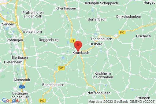 Karte Krumbach