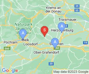 Karte für Hotel Residenz Hössinger