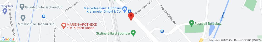 BayWa Baustoffe Dachau Anfahrt