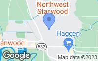 Map of Stanwood, WA