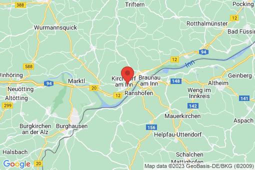 Karte Kirchdorf am Inn