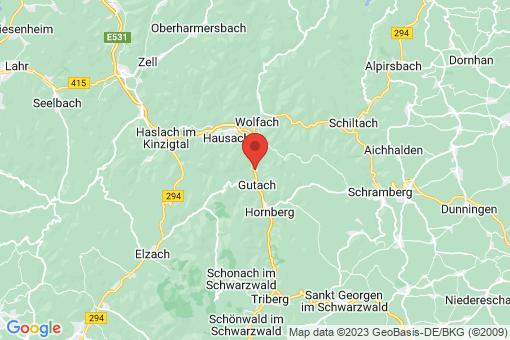 Karte Gutach (Schwarzwaldbahn)