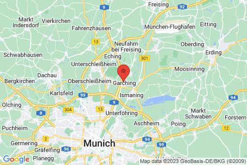 Karte Garching bei München