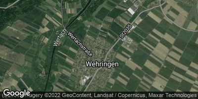 Google Map of Wehringen
