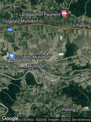 Google Map of Mühldorf am Inn