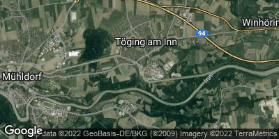 Google Map of Töging am Inn