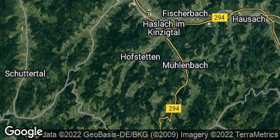 Google Map of Hofstetten