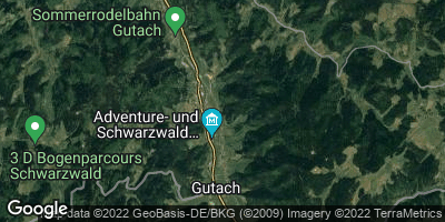 Google Map of Gutach
