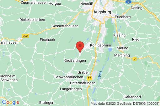 Karte Wehringen