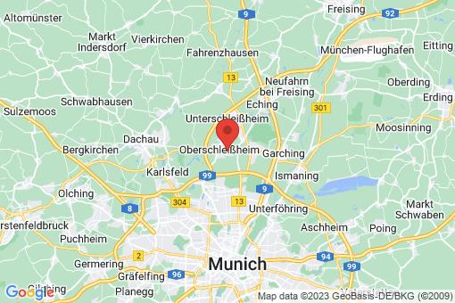 Karte Oberschleißheim