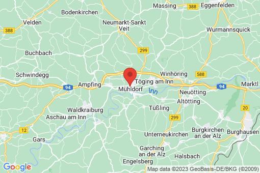 Karte Mühldorf am Inn