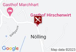 Gasthof Hirschenwirt Nölling - Karte