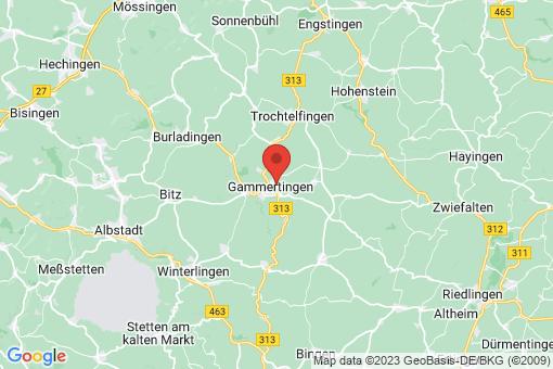 Karte Gammertingen