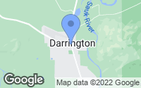 Map of Darrington, WA