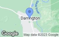 Map of Darrington, WA