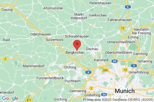 Karte Bergkirchen