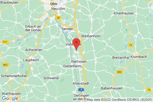 Karte Bellenberg