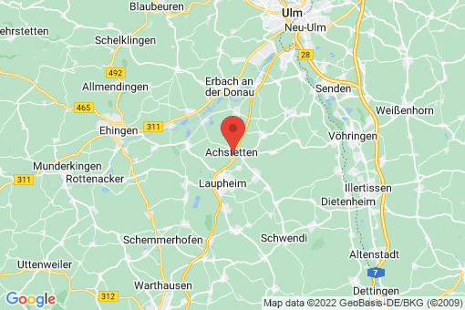 Karte Achstetten