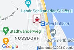 Kunst Cafe am Nußdorfer Platz - Karte
