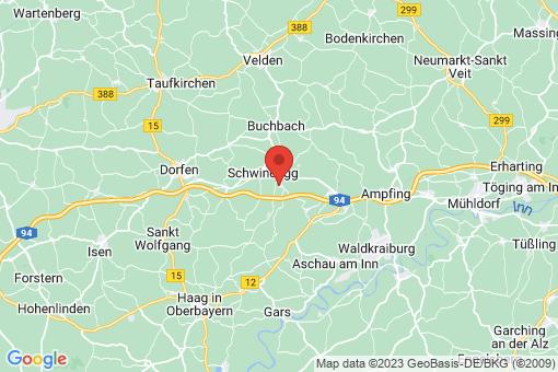 Karte Obertaufkirchen