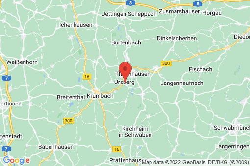 Karte Ursberg