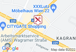 KIKA Restaurant Wien Nord - Karte