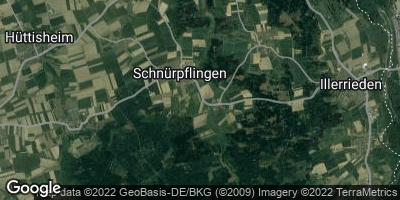 Google Map of Schnürpflingen