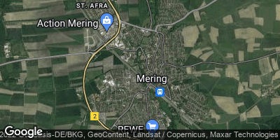 Google Map of Mering