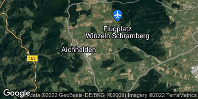 Google Map of Aichhalden bei Schramberg
